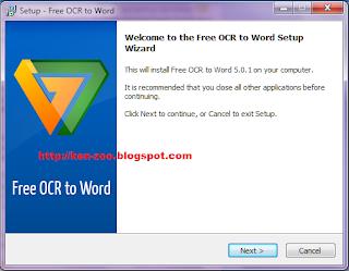 Software Perubah Hasil Scanner menjadi Teks