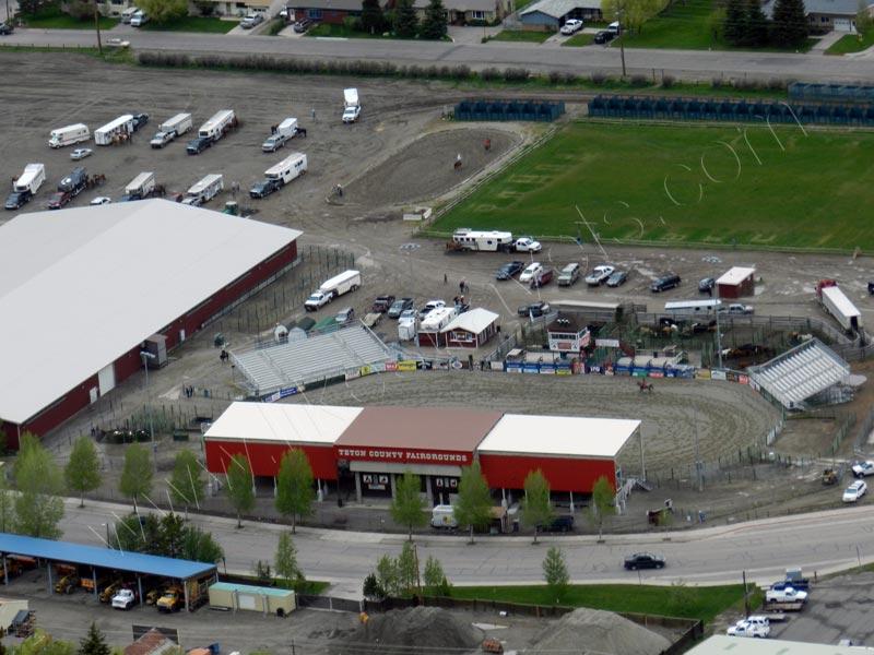 Jackson Hole Rodeo–Arena