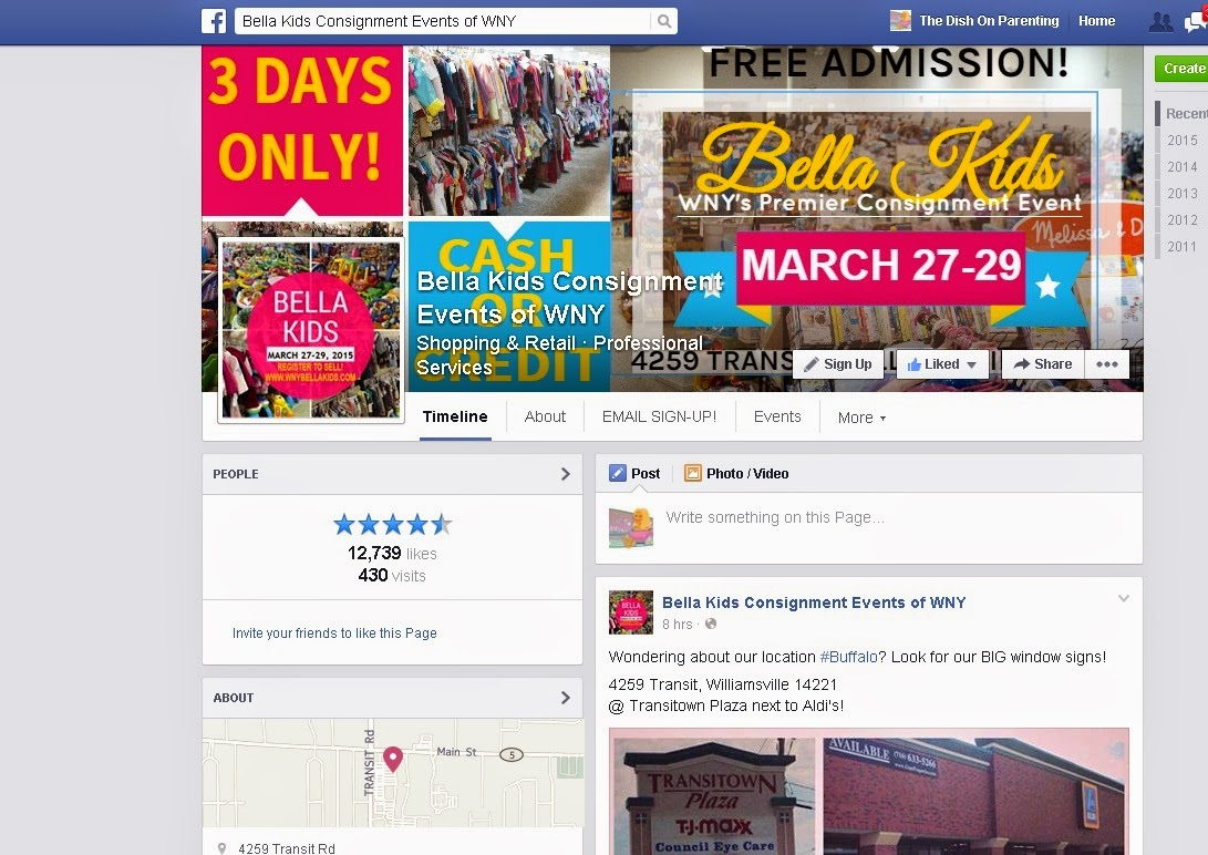 Bella Kids Facebook
