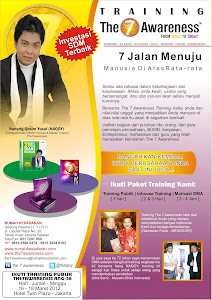 IKUTI PUBLIK TRAINING THE7AWARENESS (17-18 Juni)