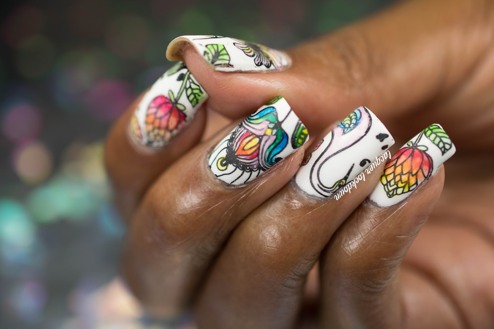 Lacquer Lockdown: My Favorite Nail Art Of 2015!