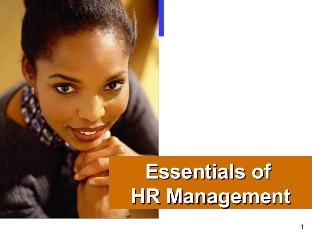 Essentials of HRM ppt