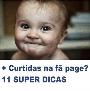 11 dicas sensacionais para sua Página ganhar mais curtidas no facebook!