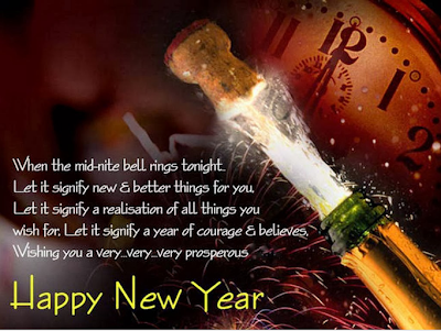 Happy New Year Wishes Cards 2015
