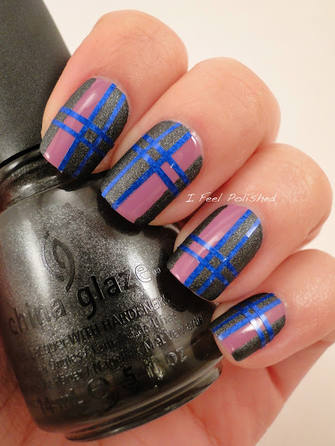 Plaid Manicure