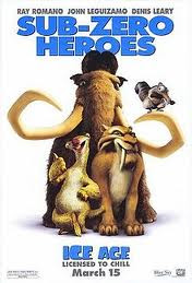 Ice Age poster - four boy animals