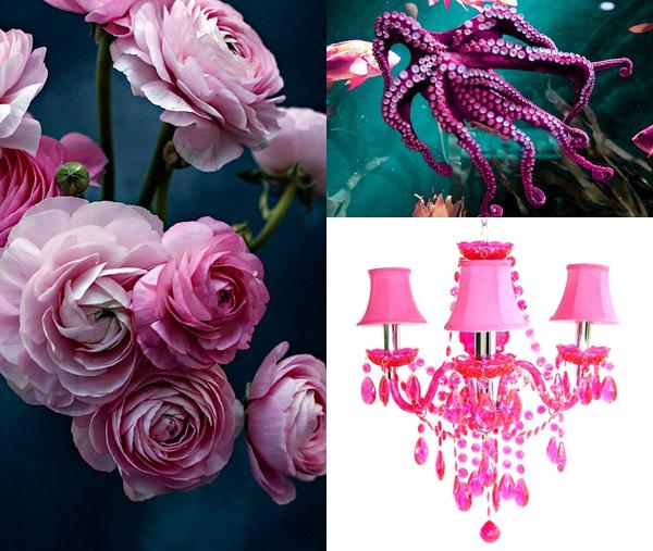 Designers guild tæppe hvor den pink farve gør forskellen