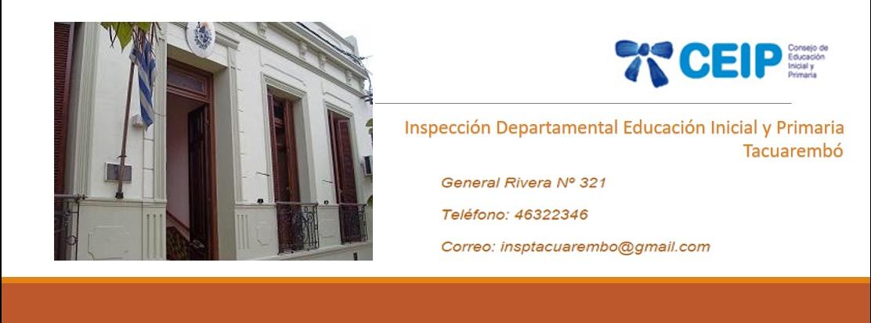 Inspección Departamental de Educación Inicial y Primaria Tacuarembó