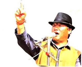 Gorkha Jan Mukti Morcha (GJMM) chief Bimal Gurung