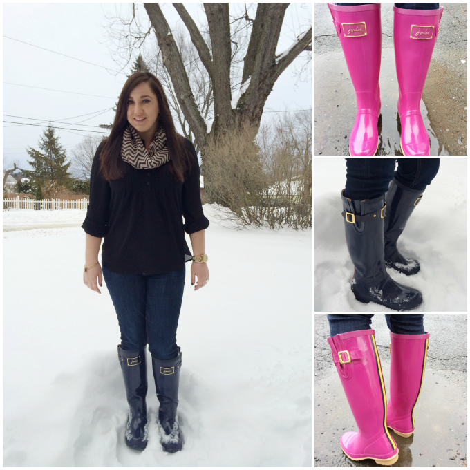 Rain Boots As Snow Boots - Boot Hto