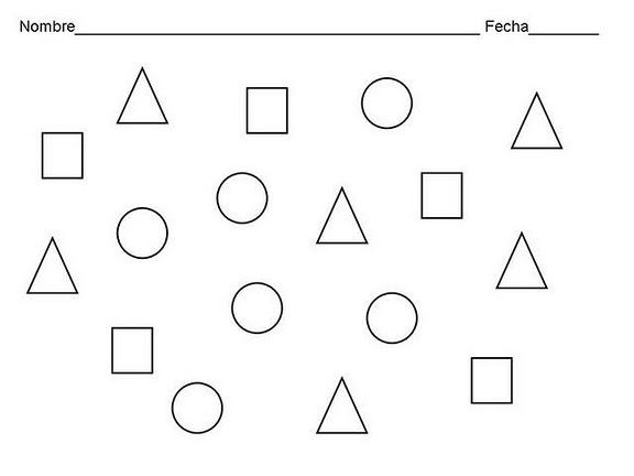COLOREA TUS DIBUJOS: Examen de Figuras Geométricas