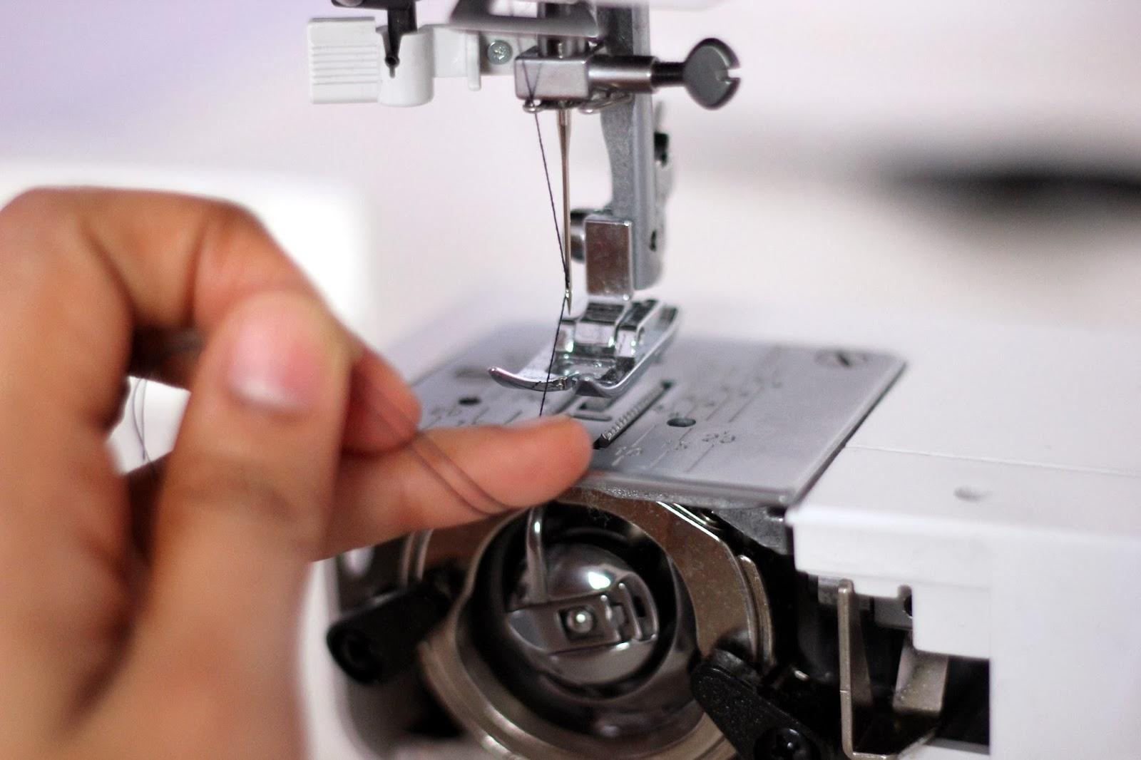 How to stitching using sewing machine
