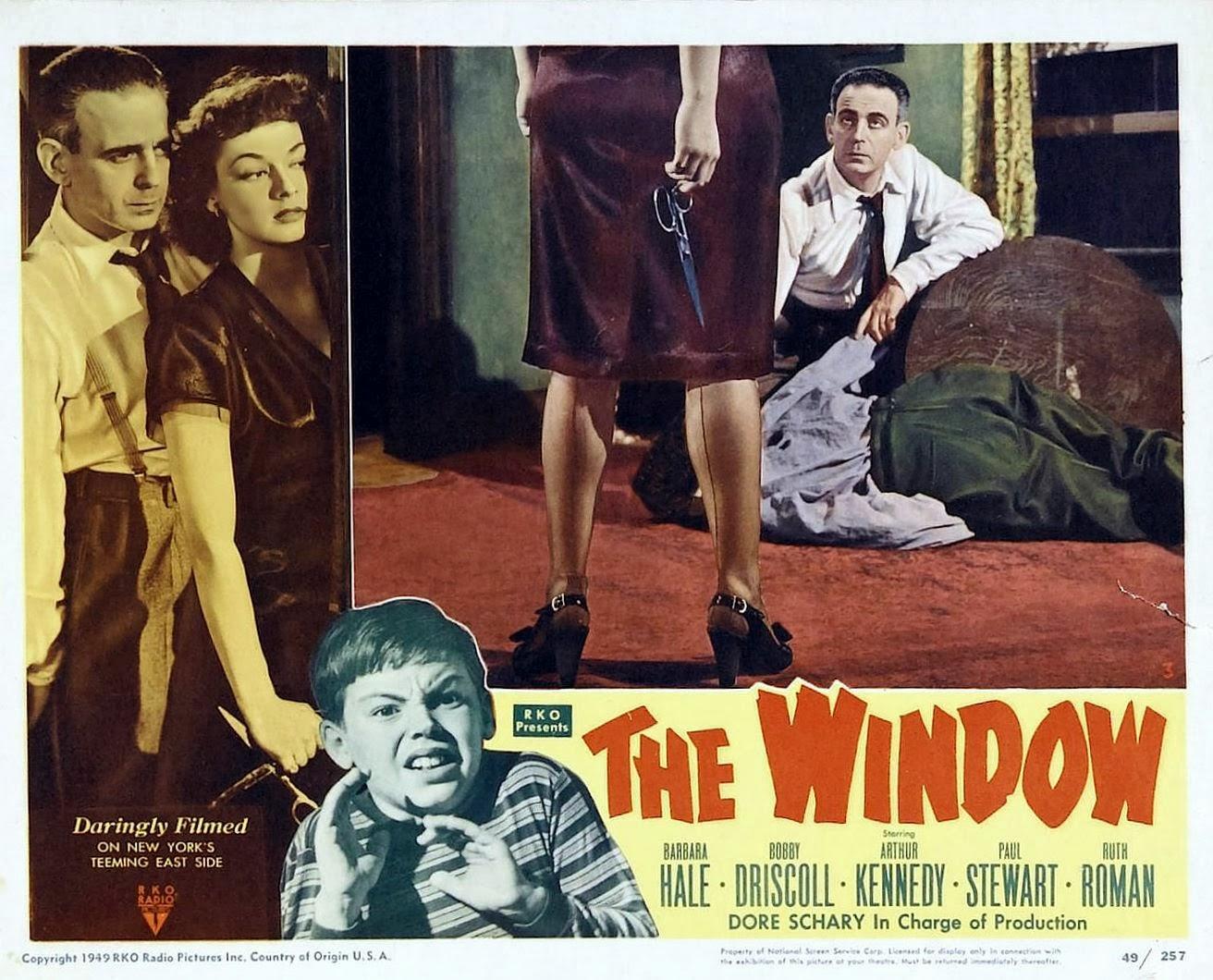 film noir of the week the window 1949