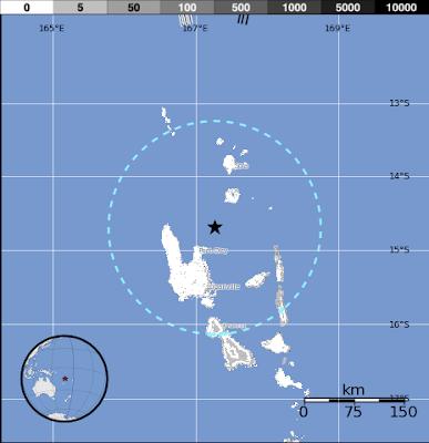 Terremoto de 6,3 grados sacude región de vanuatu 06 de Julio 2012