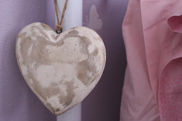 vintage heart primark shabby chic