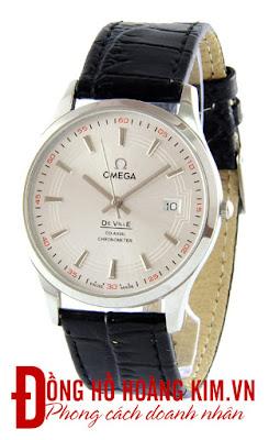 Đồng hồ nam Omega dây da cao cấp