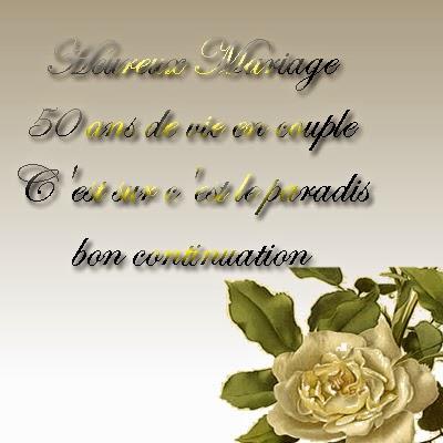 cartes anniversaire de mariage 50 ans a imprimer - Texte 50 Ans De Mariage Noces D Or