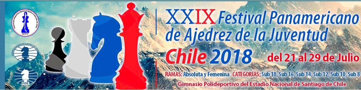 XXIX Festival Panamericano de ajedrez de la Juventud Chile 2018