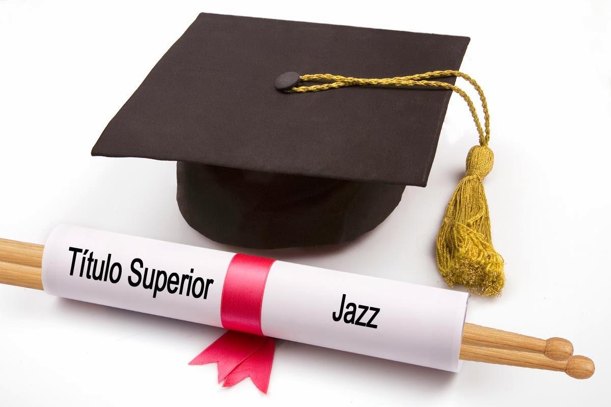 Titulo Grado Superior Jazz batería programación estudios música moderna actuales clases Madrid