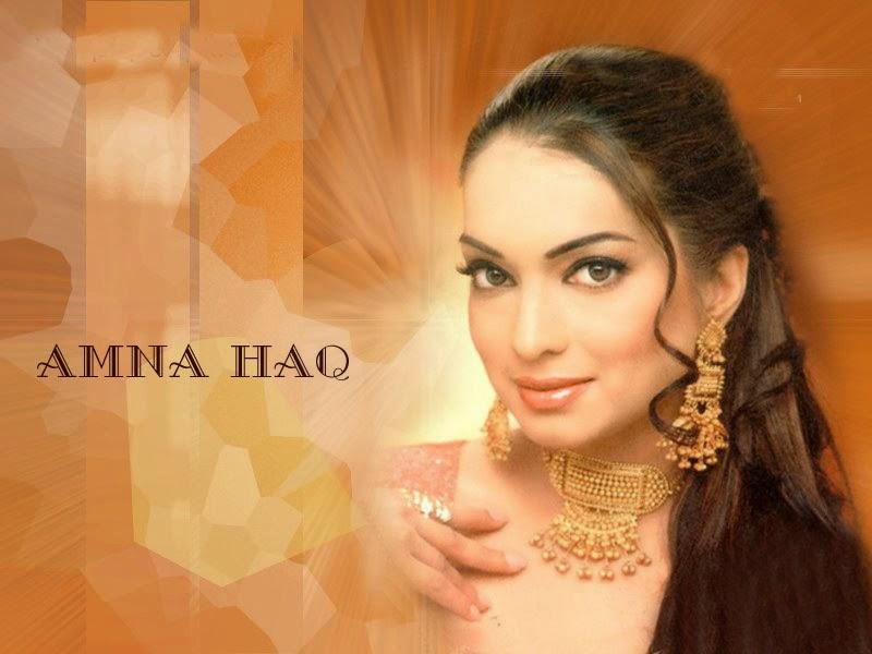 Loolywood Actress Amna Haq HD Wallpaper