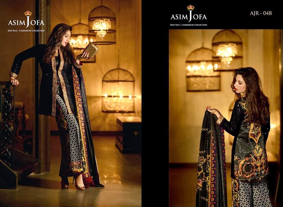 AsimJofaWinterCollection2014 wwwfashionhuntworldblogspotcom 010 - Asim Jofa Winter Collection 2014