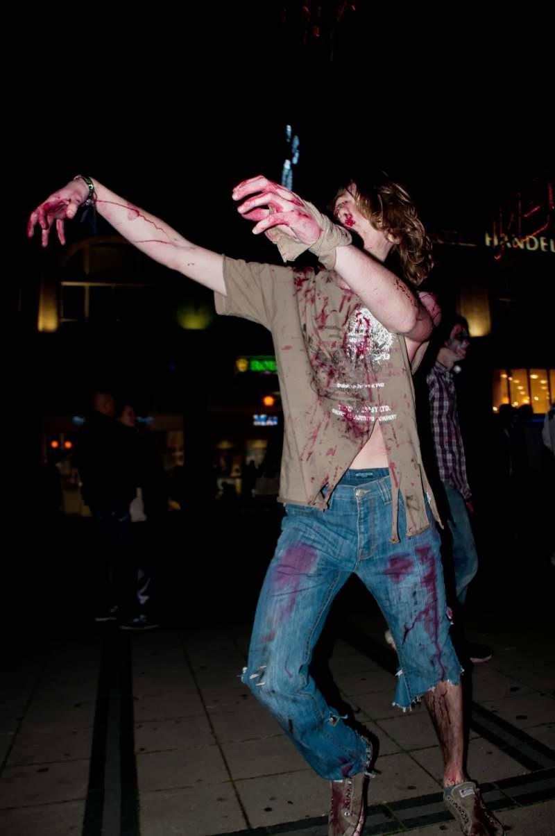 Zombie in Essen