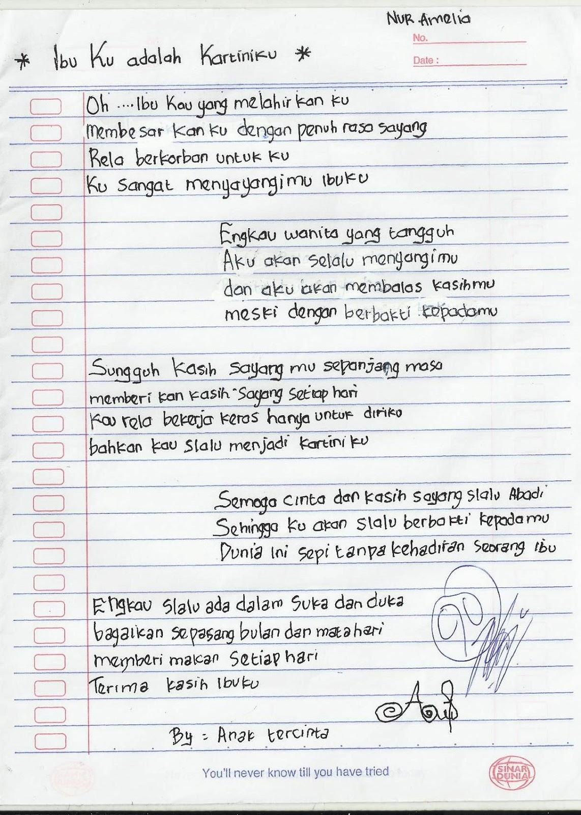 SDN-Pengambangan-3: Puisi di Hari Kartini