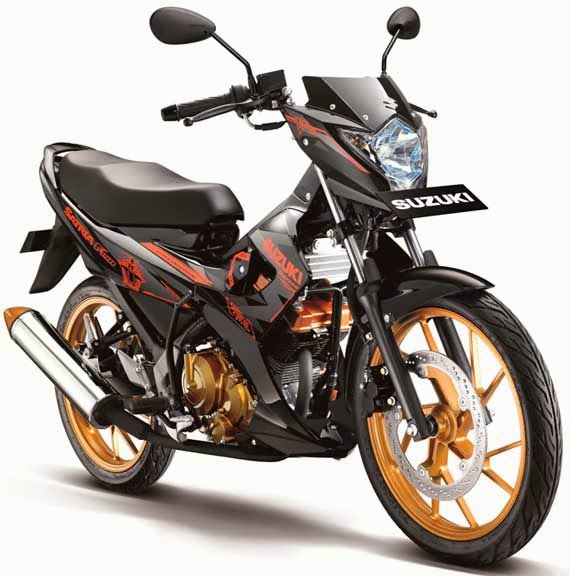 new satria f150 fighter 1