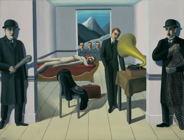 René Magritte, L assasin menacé, 1927 - New York, The Museum of Modern Art © Charly HERSCOVICI Brüssel - 2011 © VBK Wien, 2011