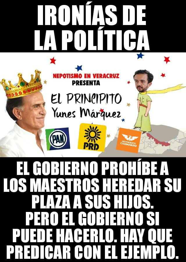 IRONÍAS DE LA POLÍTICA
