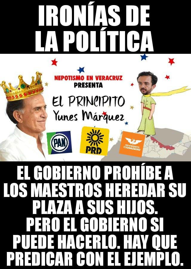 IRONÍAS DE LA POLÍTICA