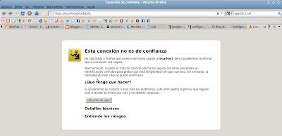 Imagen de prueba de SSL en apache2