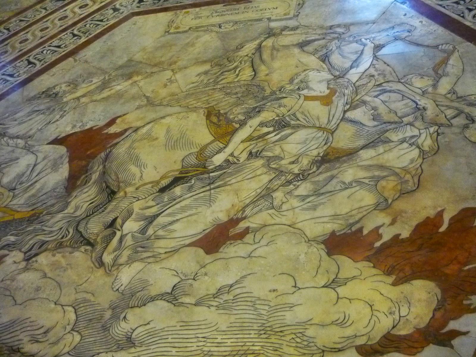Vuelo Alado (Suelo del Diomo de Siena) Beatriz, 2010