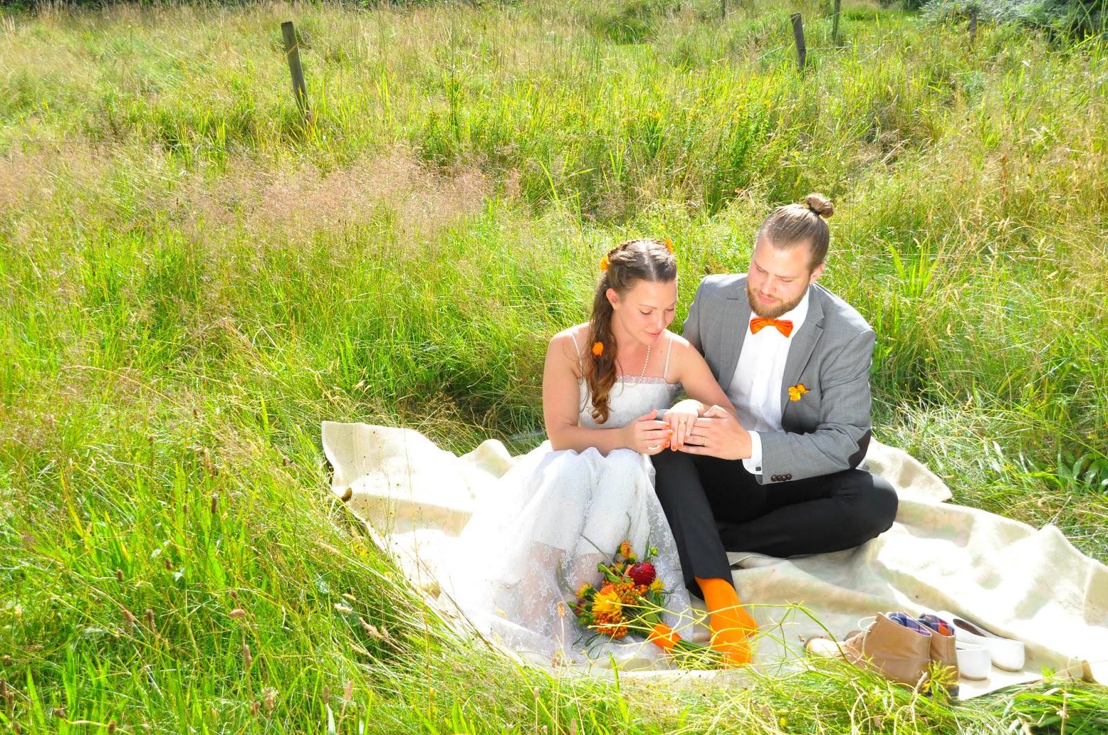 Inspirerande Blommor & Dekor: Bröllop med färgtema
