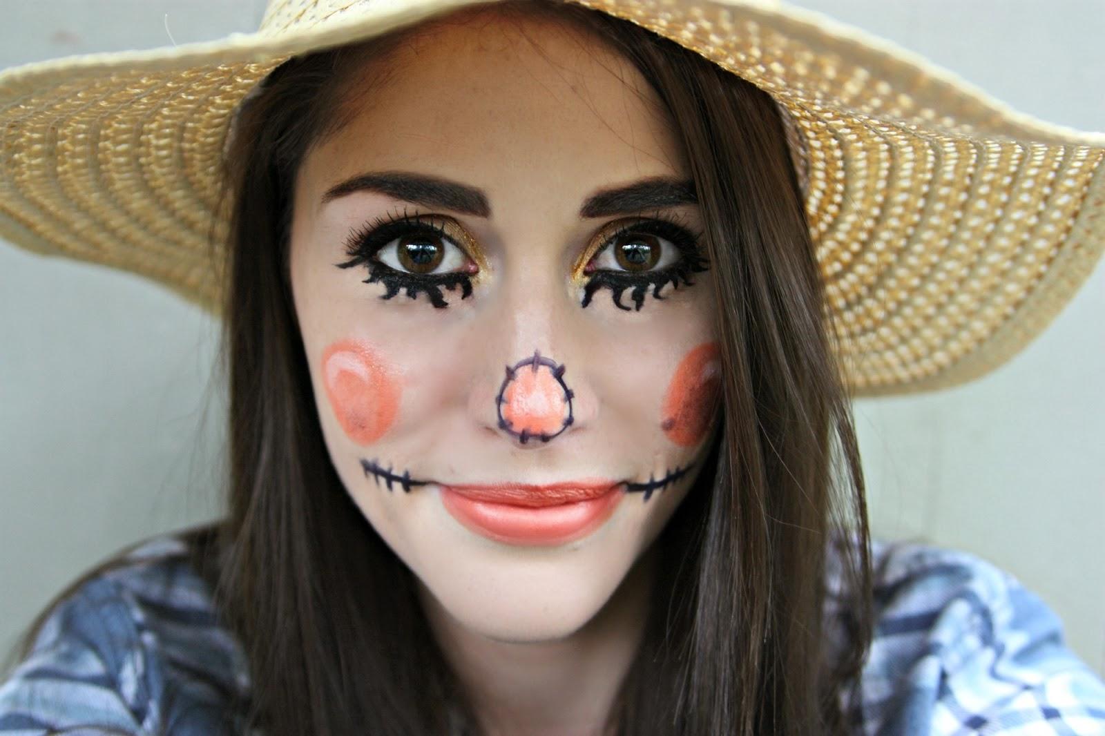 Scarecrow makeup for men