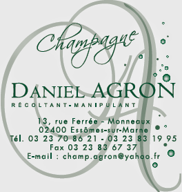 Logo Champagne AGRON