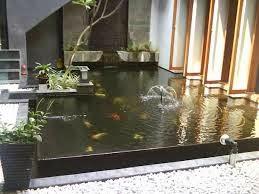 membuat kolam ikan yang sihat dan elegant   bayani home