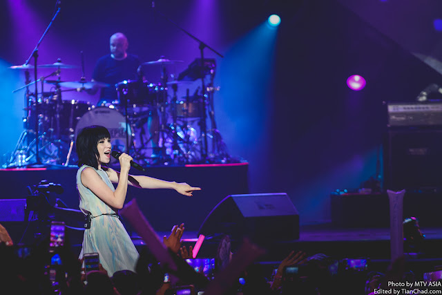 Carly Rae Jepsen performing at MTV World Stage Malaysia 2015 on 12 Sep Pic 1 (Credit - MTV Asia & Lucas Lau)