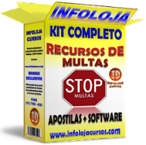 NÃO PAGUE MAIS MULTAS DE TRÂNSITO !! Kit Recurso de Multas de Trânsito - Curso + Software