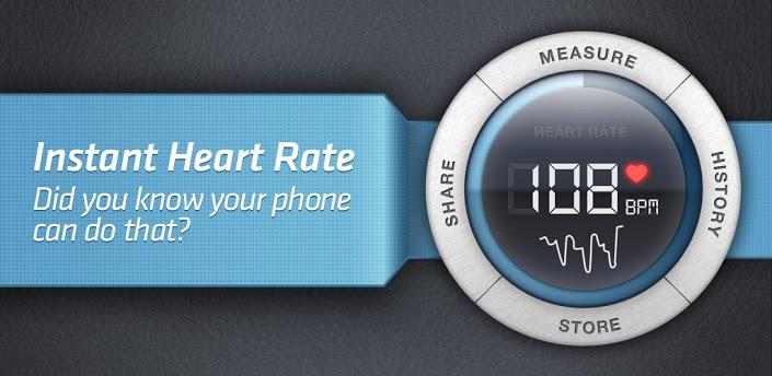 تطبيق النادر للياقة البدنية ورصد معدل ضربات القلب Instant Heart Rate