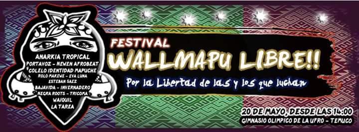 TEMUCO:  FESTIVAL WALMAPU LIBRE¡¡¡