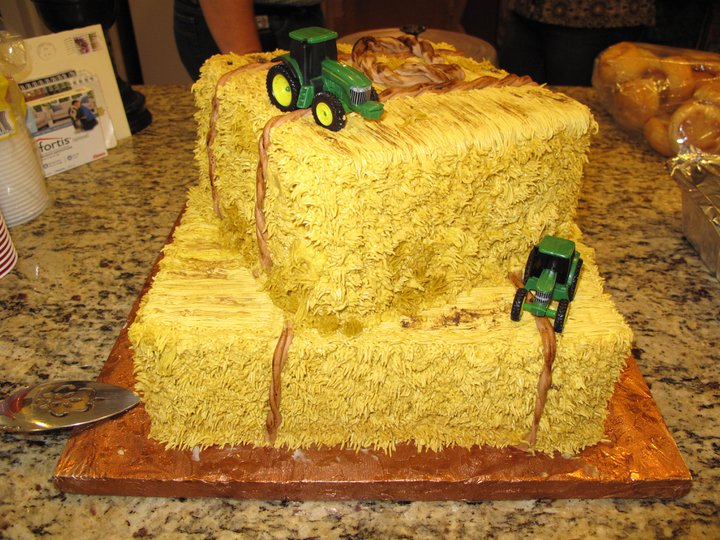 Pin Western Hay Bale Wedding Cake Topper Figurines Cake on Pinterest