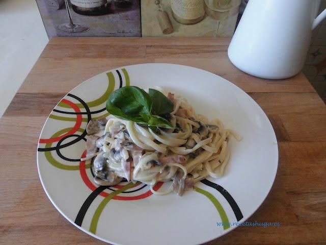 Pasta Carbonara...