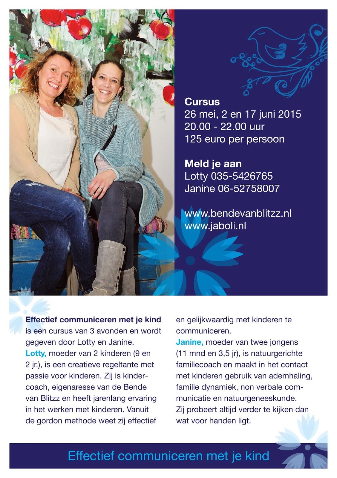 flyer Bende van Blitzz - effectief communiceren