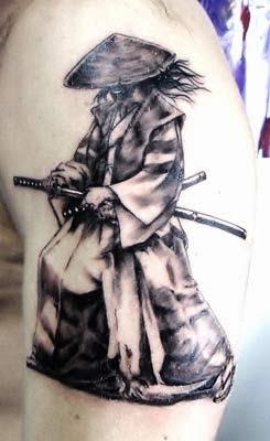 História das tatuagens de samurai