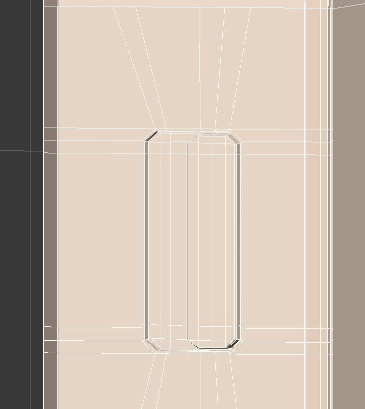 Relizar cortes con cut en la pestña del iphone5  en 3ds max.