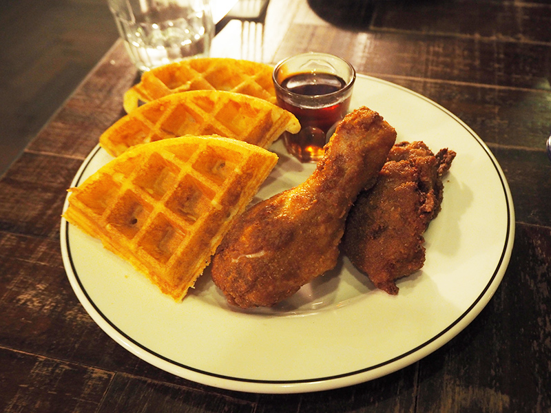 Dirty Bones Kensington review Chicken and waffles