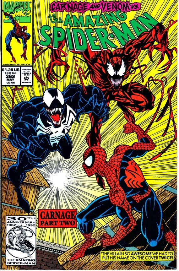 Amazing Spider-Man (1963 1st Series) #362, May 1992 Issue - Marvel Comics
