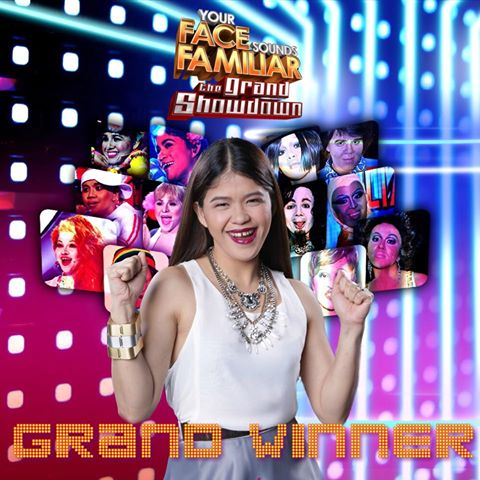 Melai Cantiveros is first Your Face Sounds Familiar Grand Winner!