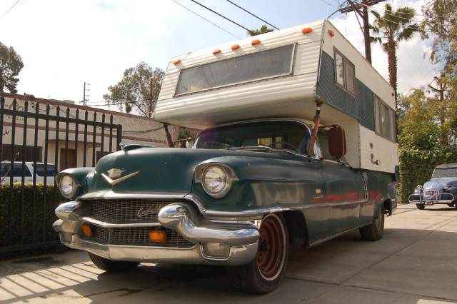 1956 Cadillac Sedan DeVille Camper For Sale EBay